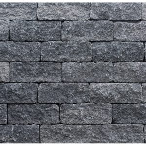 Wallblock tumbled 12x12x30 antraciet